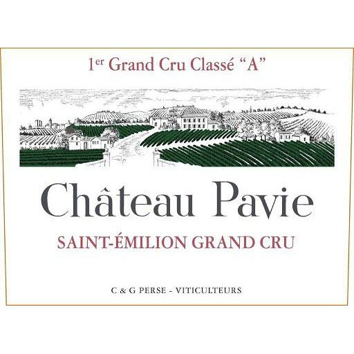 Chateau Pavie (1.5 Liter Futures Pre-Sale) 2017 Front Label