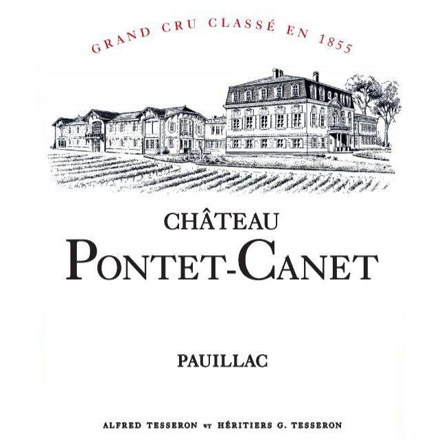 Chateau Pontet-Canet (Futures Pre-Sale) 2017 Front Label
