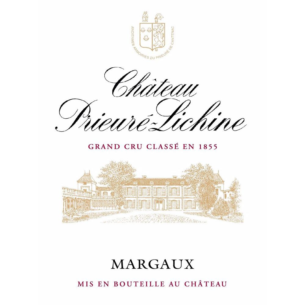 Chateau Prieure-Lichine (Futures Pre-Sale) 2017 Front Label