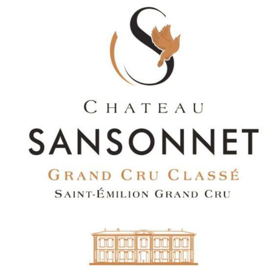 Chateau Sansonnet (Futures Pre-Sale) 2017 Front Label