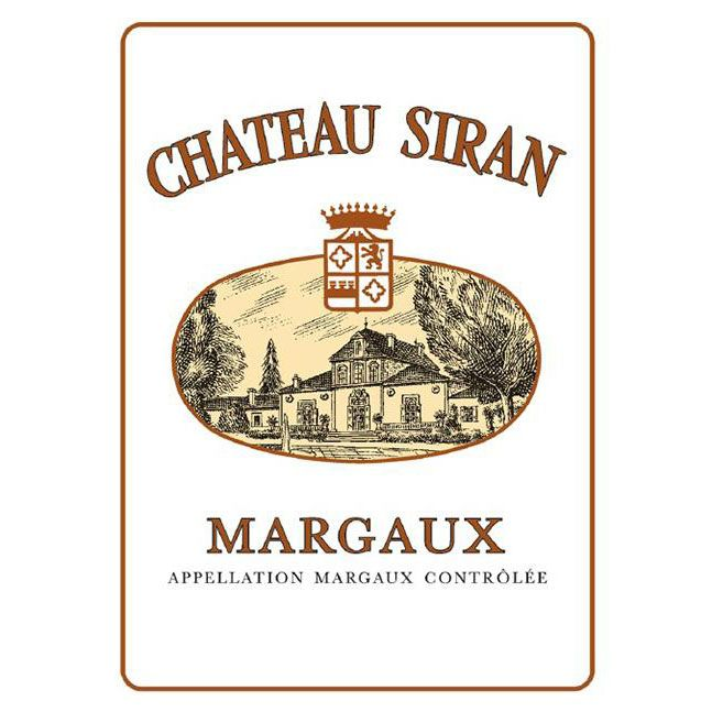 Chateau Siran (Futures Pre-Sale) 2017 Front Label