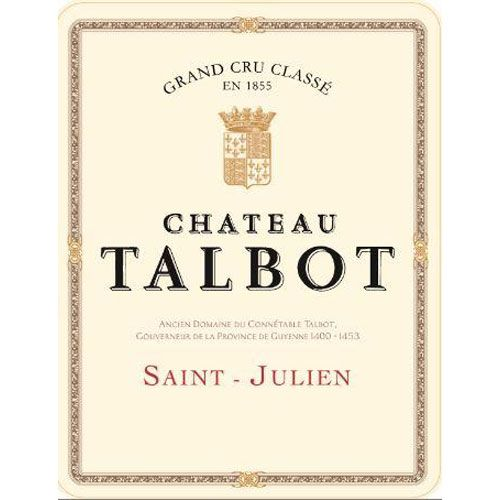 Chateau Talbot (Futures Pre-Sale) 2017 Front Label