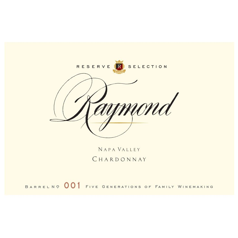 Raymond Reserve Selection Chardonnay 2016 Front Label
