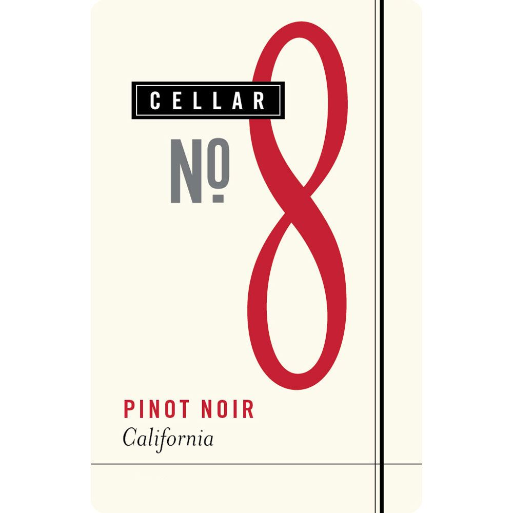 Cellar No. 8 Pinot Noir 2016 Front Label