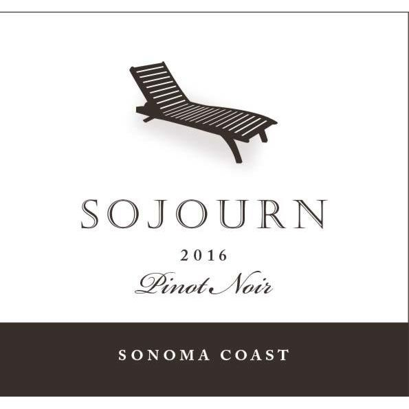 Sojourn Sonoma Coast Pinot Noir 2016 Front Label