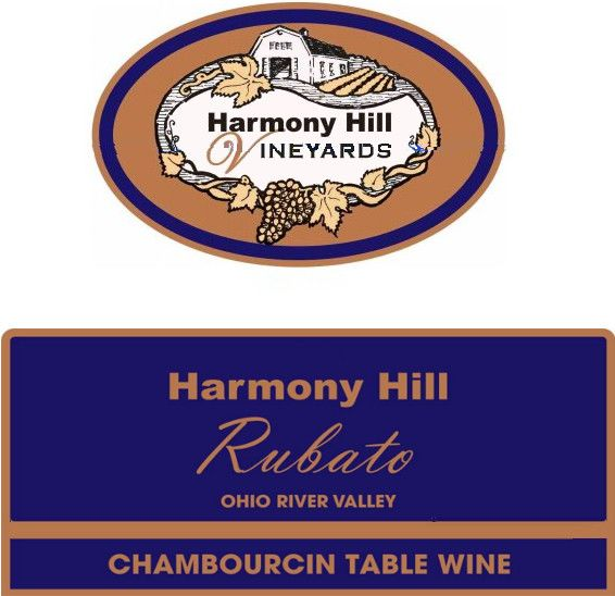Harmony Hill Vineyards & Estate Winery Rubato 2012 Front Label