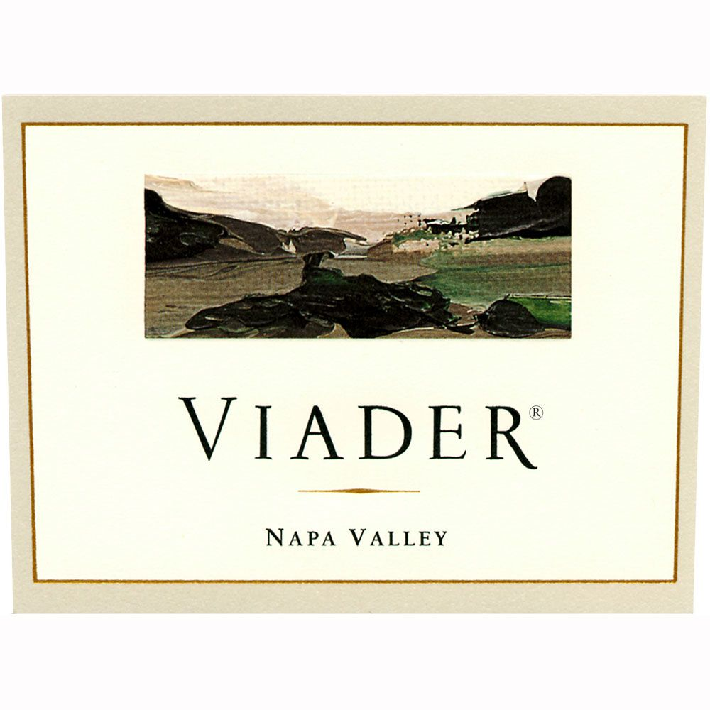 Viader Proprietary Red 1999 Front Label
