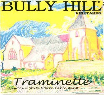 Bully Hill Traminette 2005 Front Label