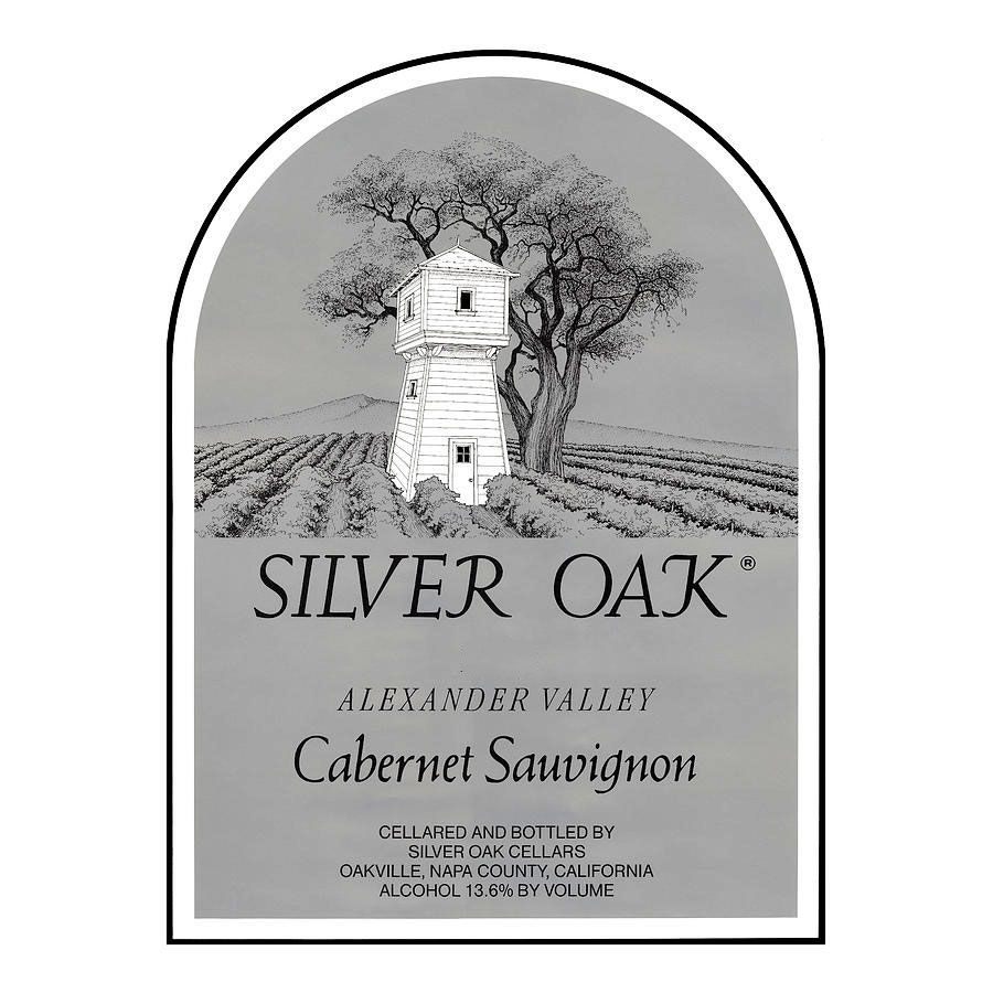 Silver Oak Alexander Valley Cabernet Sauvignon (5 Liter Bottle) 1989 Front Label