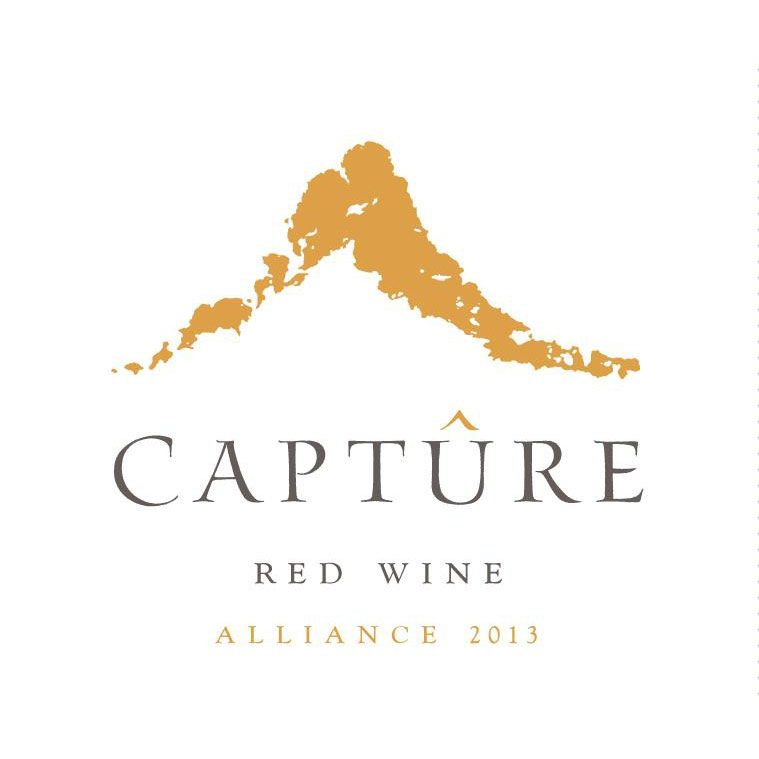 Capture Alliance Red Wine 2013 Front Label