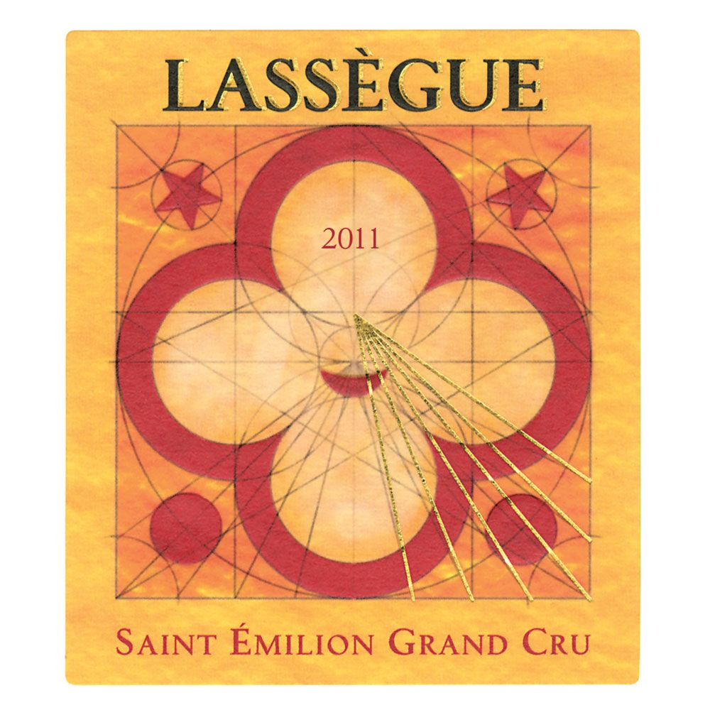 Chateau Lassegue  2011 Front Label