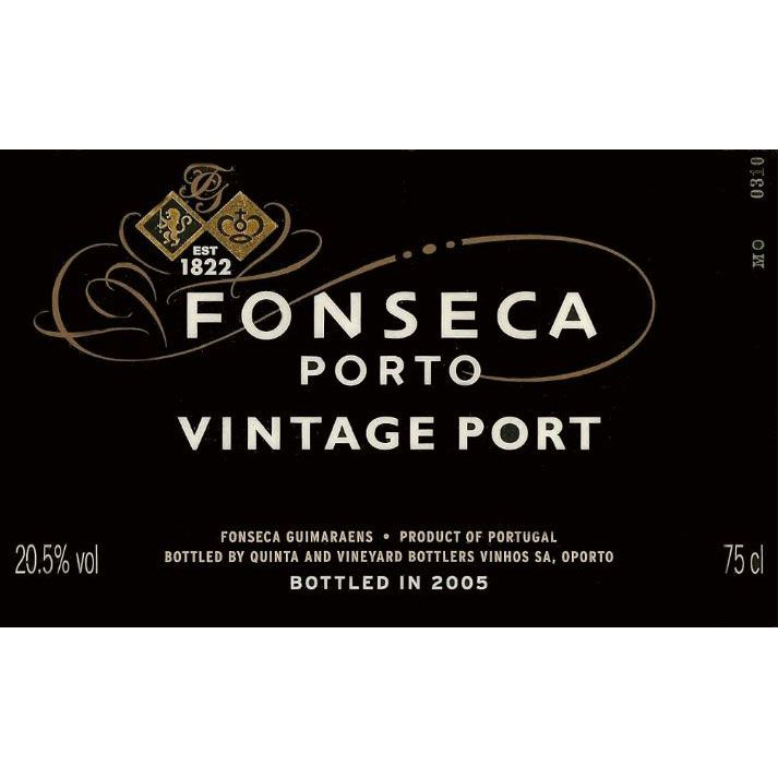 Fonseca Vintage Port 1963 Front Label