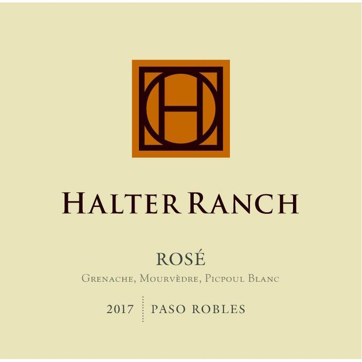 Halter Ranch Vineyard Rose 2017 Front Label