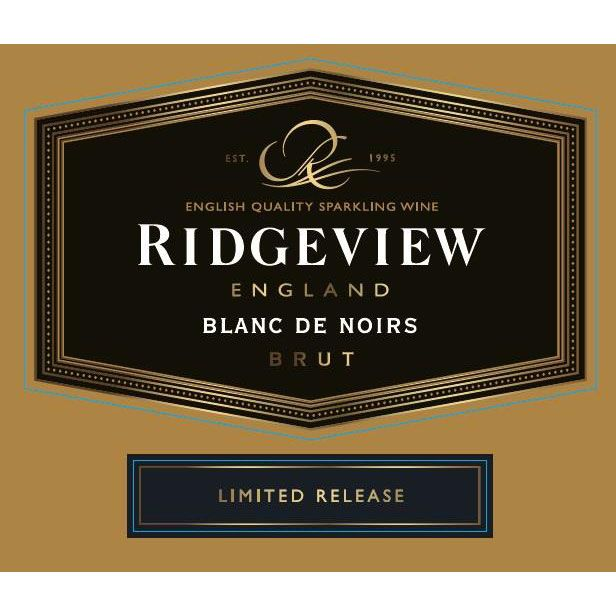 Ridgeview Wine Estate Blanc de Noir 2013 Front Label