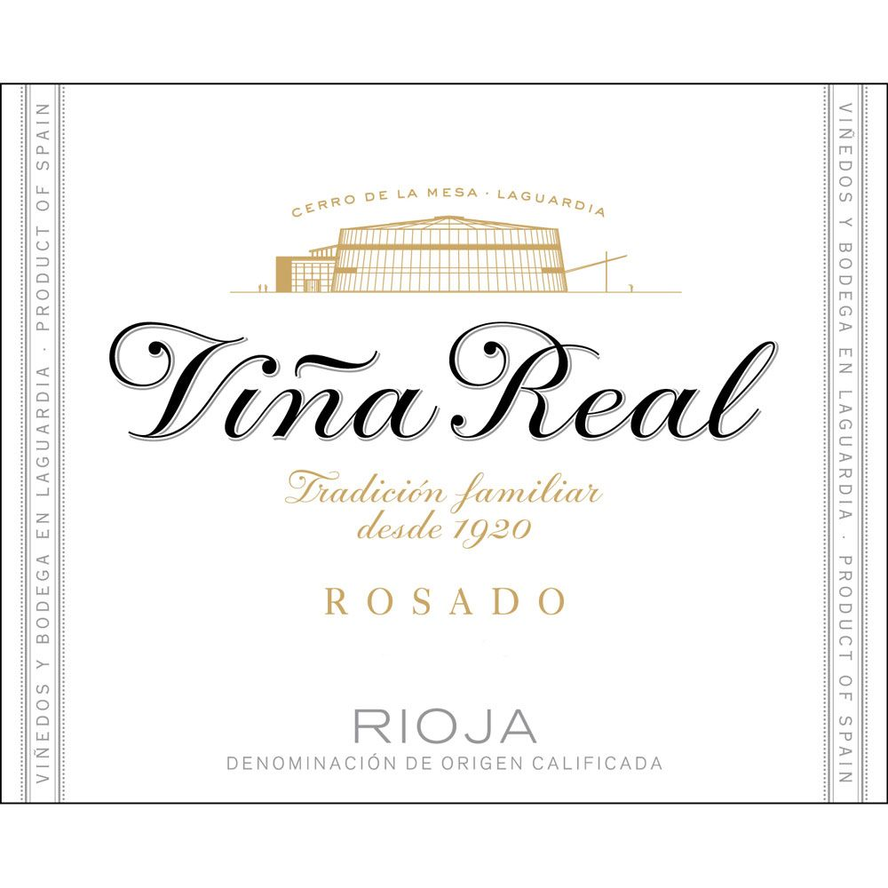 CVNE Vina Real Rosado 2017 Front Label