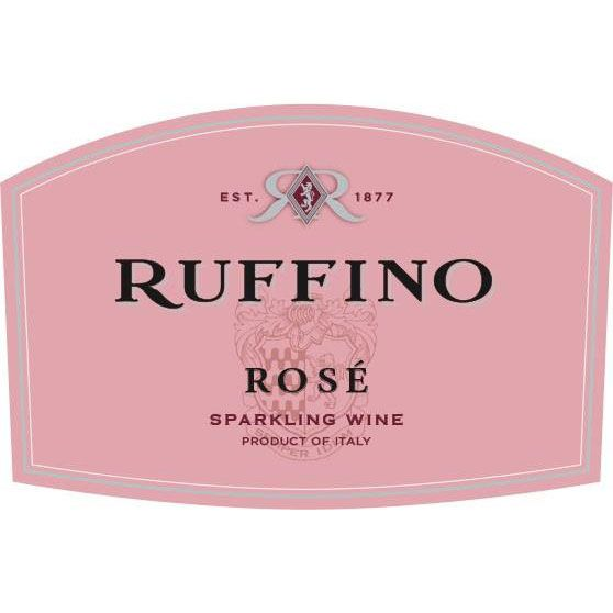 Ruffino Sparkling Rose (187ML Split) Front Label