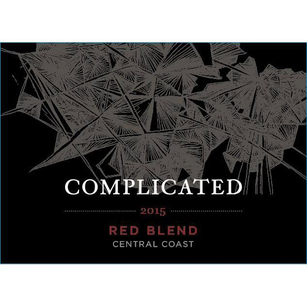 Taken Wine Company Complicated Red Blend 2015 Front Label