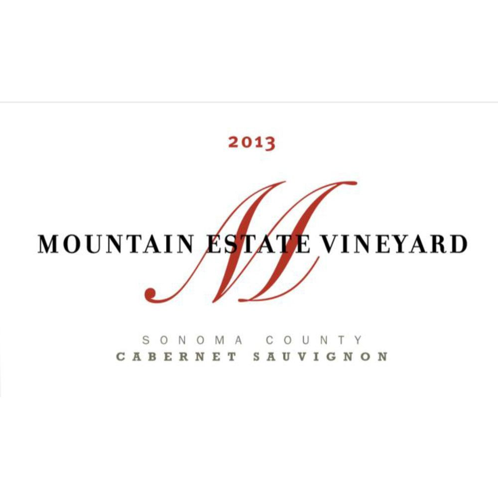 Fisher Vineyards Mountain Estate Cabernet Sauvignon 2013 Front Label