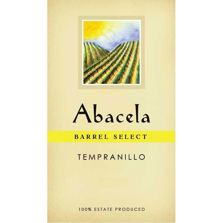 Abacela Barrel Select Estate Tempranillo 2014 Front Label