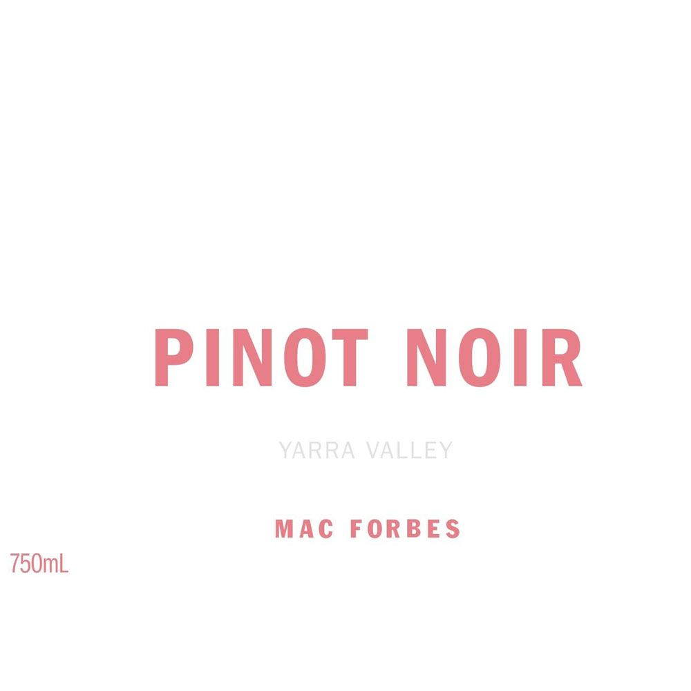 Mac Forbes Yarra Valley Pinot Noir 2016 Front Label