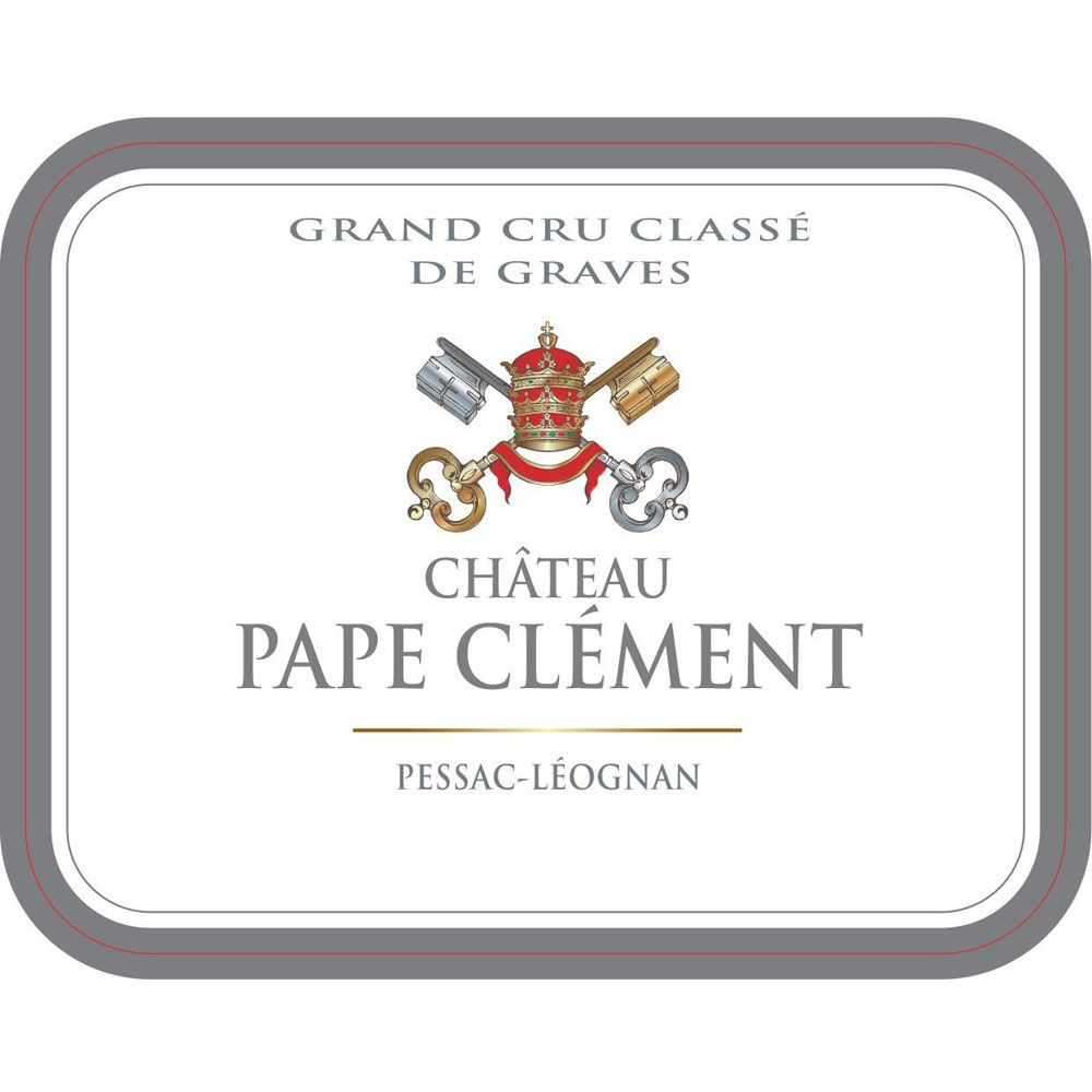 Chateau Pape Clement Blanc (Futures Pre-Sale) 2017 Front Label