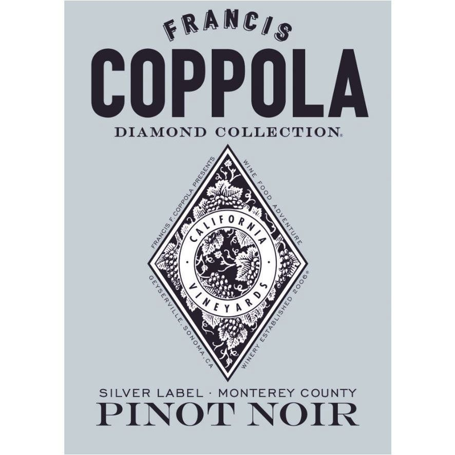 Francis Ford Coppola Diamond Collection Pinot Noir 2016 Front Label