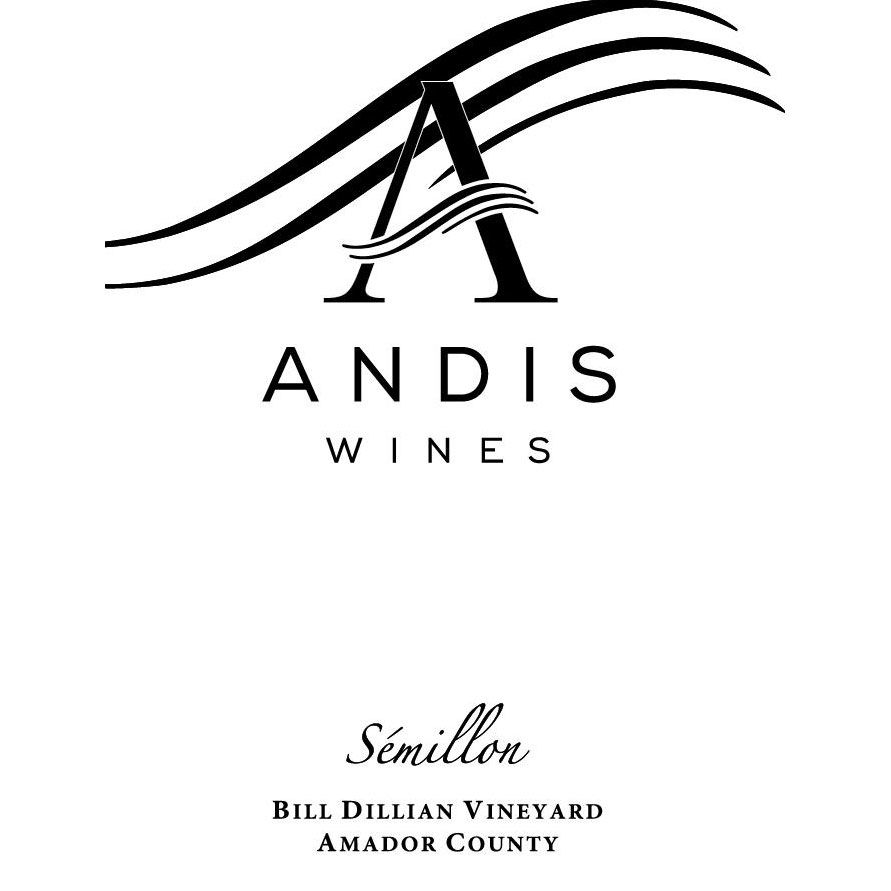 Andis Semillon 2016 Front Label