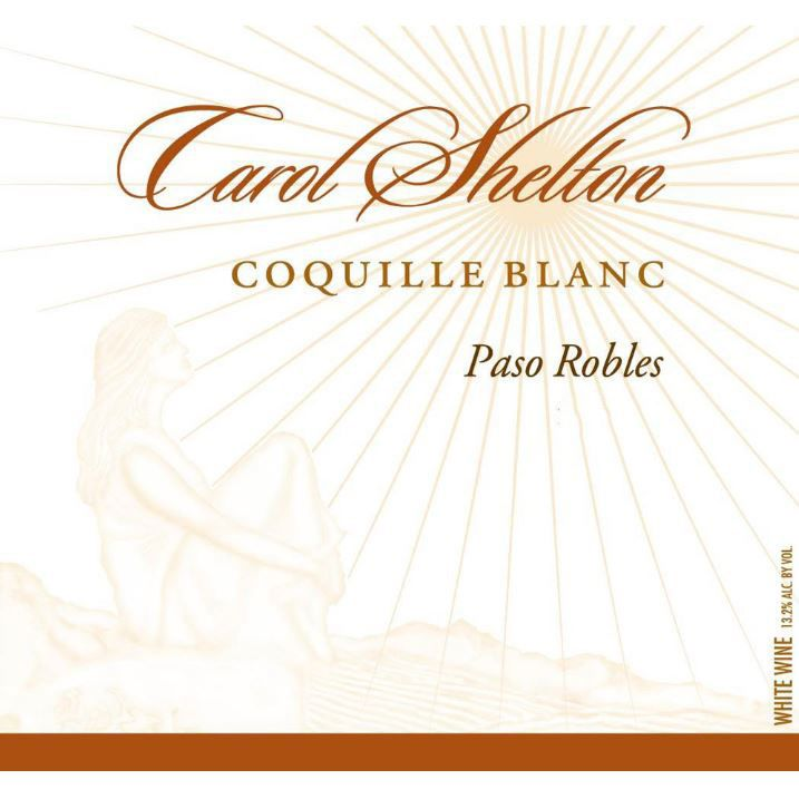 Carol Shelton Coquille Blanc 2016 Front Label