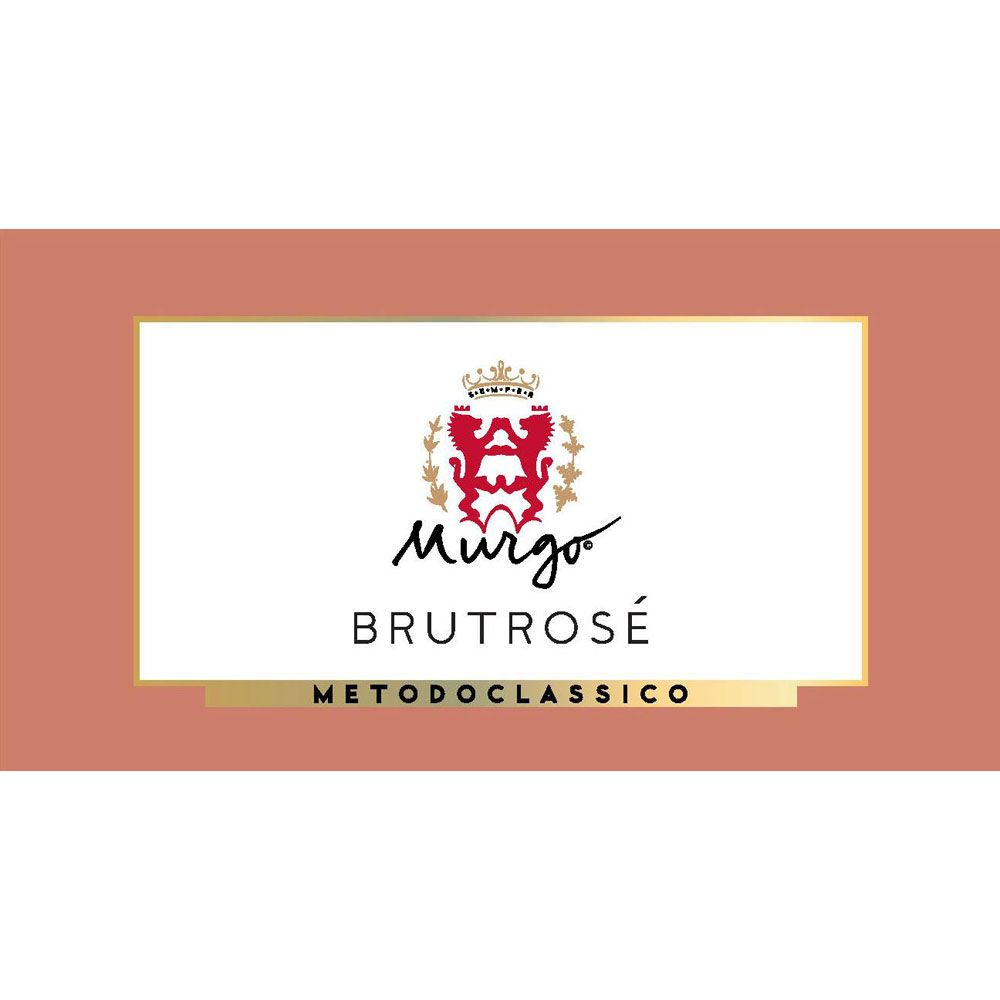 Murgo Brut Rose 2015 Front Label
