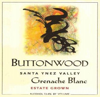 Buttonwood Farms Estate Grown Grenache Blanc 2012 Front Label