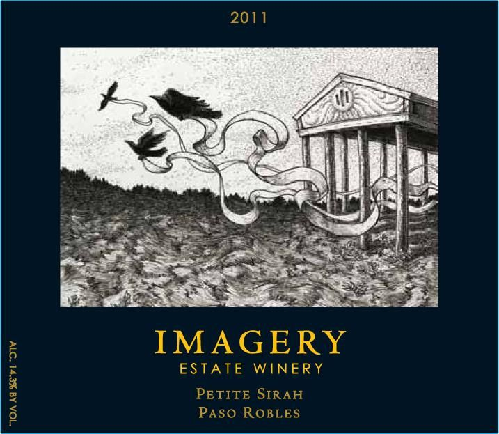 Imagery Estate Winery Petite Sirah 2011 Front Label