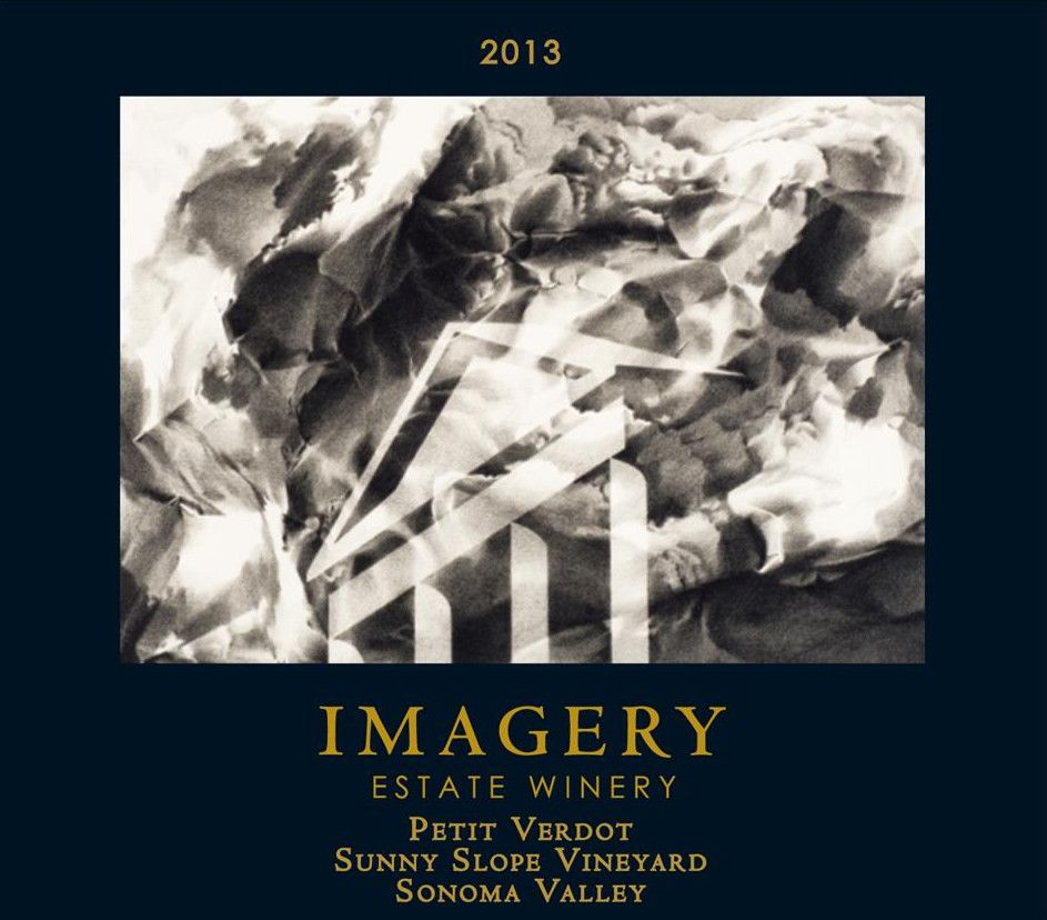 Imagery Estate Winery Petit Verdot 2013 Front Label