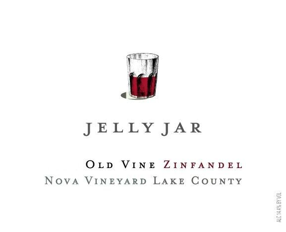 Jellyjar Wines Nova Vineyard Old Vine Zinfandel 2011 Front Label