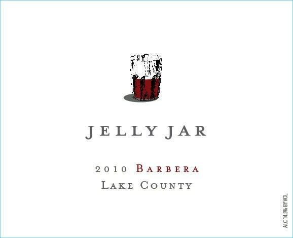 Jellyjar Wines Barbera 2010 Front Label