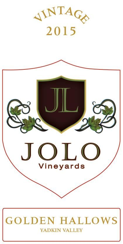 Jolo Winery & Vinyards Golden Hallows 2015 Front Label
