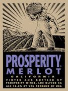 Firestone Prosperity Merlot Front Label