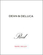 Dean and DeLuca Red Napa Valley 1998 Front Label