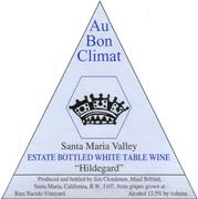 Au Bon Climat Hildegard Estate White Blend 1999 Front Label