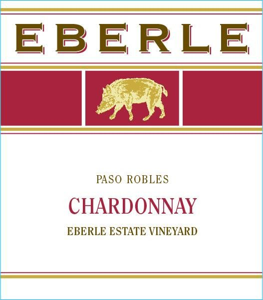 Eberle Chardonnay 1982 Front Label
