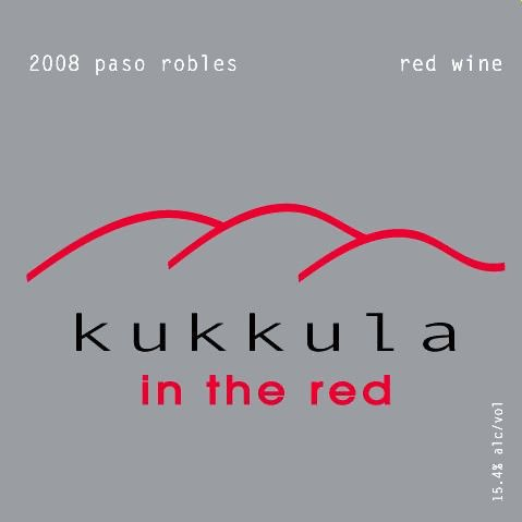 Kukkula In the Red 2008 Front Label
