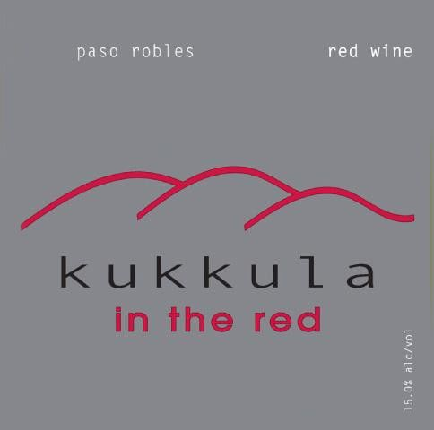 Kukkula In the Red 2012 Front Label