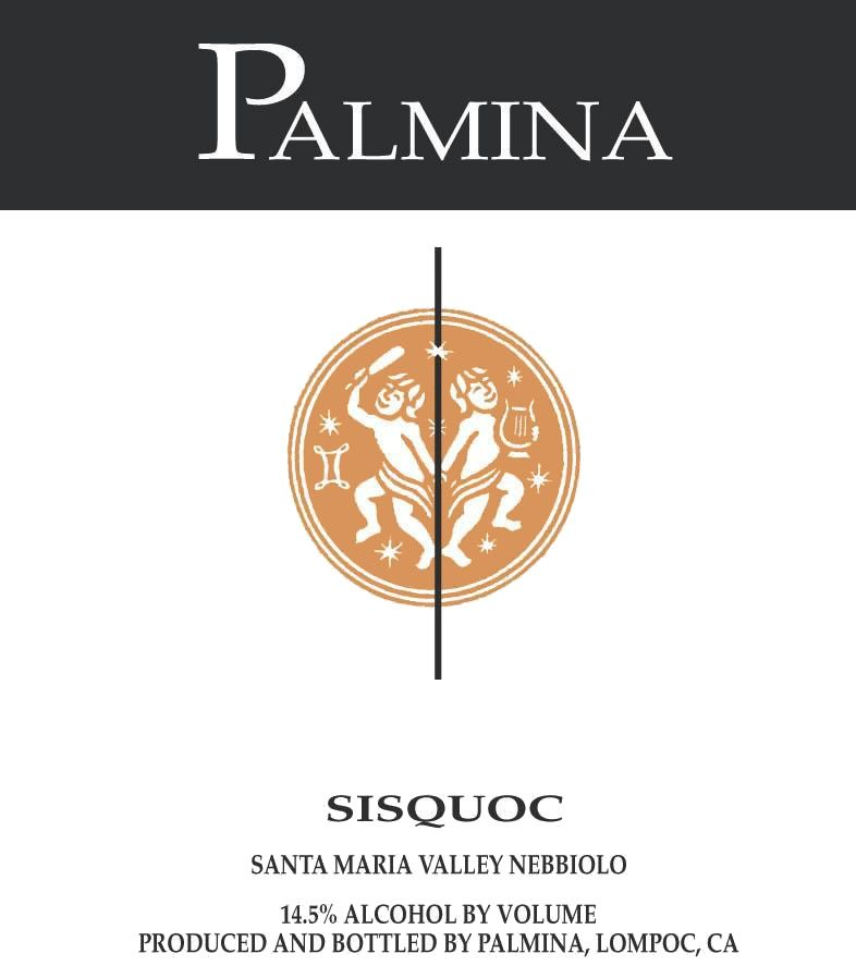 Palmina Sisquoc Vineyard Nebbiolo 2006 Front Label