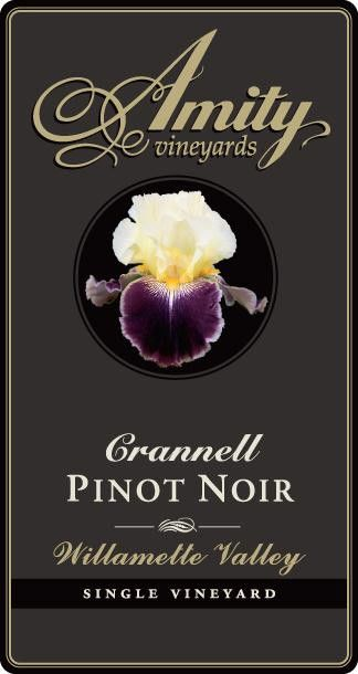 Amity Crannell Pinot Noir 2006 Front Label