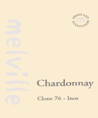 Melville Clone 76 Inox Chardonnay 2007 Front Label