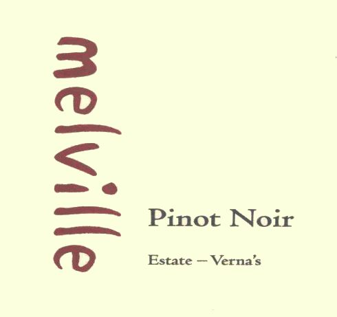 Melville Estate Verna's Pinot Noir 2007 Front Label
