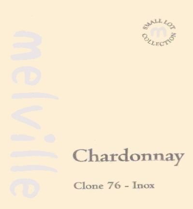 Melville Clone 76 Inox Chardonnay 2008 Front Label