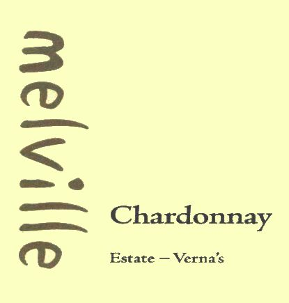 Melville Verna's Chardonnay 2008 Front Label
