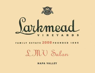 Larkmead LMV Salon 2008 Front Label