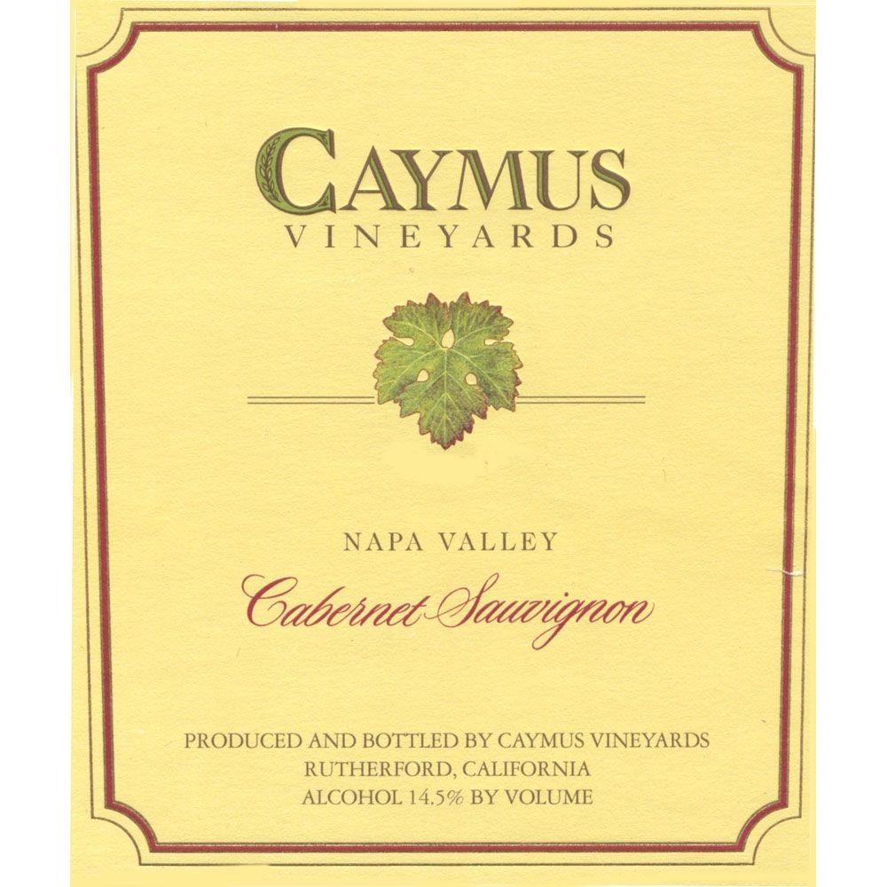Caymus Napa Valley Cabernet Sauvignon (loose capsule) 1994 Front Label