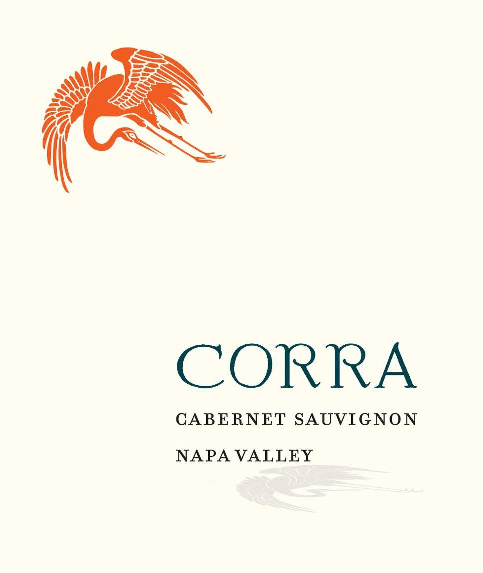 Corra Winery Napa Valley Cabernet Sauvignon 2009 Front Label